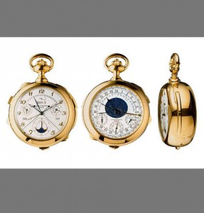 1  Patek Phillipe Henry Graves Supercomplication Pocket Watch