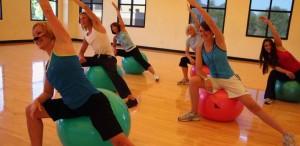 2 Group aerobics