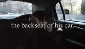 8. Backseat petting