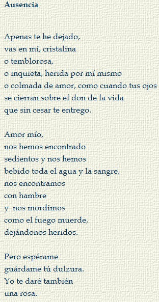 10 Spanish Love Poems