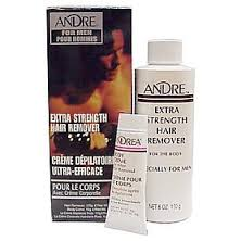 Andre Extra Strength Depilatory Cream Hair Remover for Men