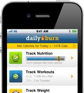 DailyBurn Tracker fitness apps