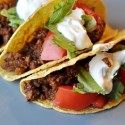 Ground Beef Soft Taco Salad