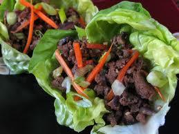 Lettuce Beef Cups