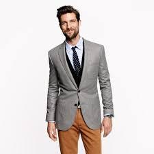 Ludlow Club Sport coat in Italian Wool Flannel