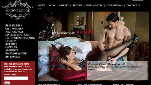 Maison Rouge online sex shop