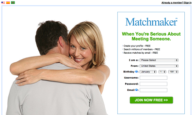 MatchMaker + hookup website + men looking for sex
