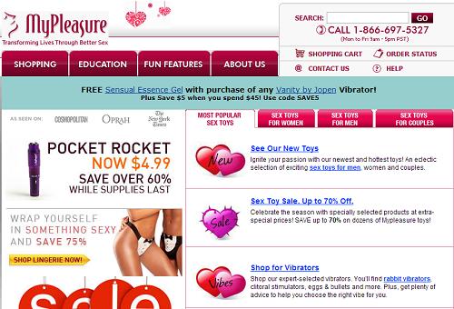 My Pleasure online sex shop