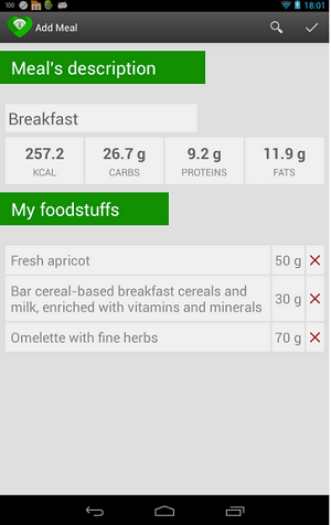 Nutrition Tracker (Free)