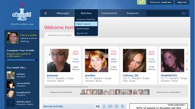 OKCupid free online dating site for men