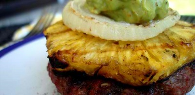 Pineapple Beef Burger