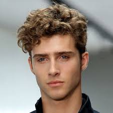 The Curly Short-sided Haircut