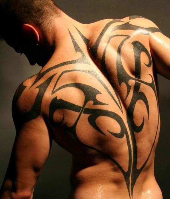 Top 10 Sexiest Tribal Back Tattoos For Men