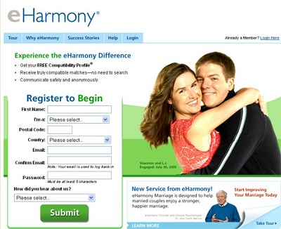 eharmony hookup website for guys