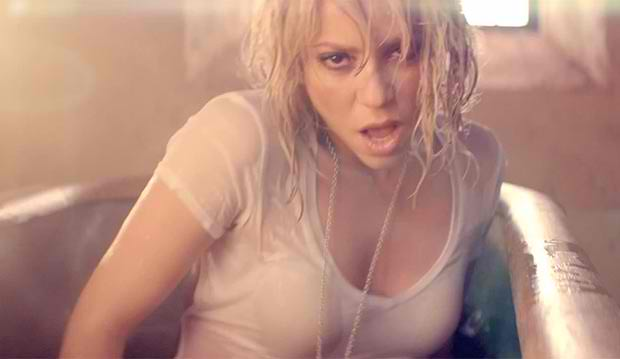 shakira + sexy video for men