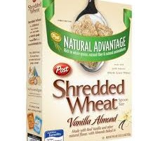 Natural Advantage Shredded Wheat Vanilla Almond