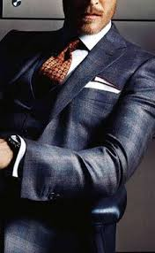 pocket square + business attire + men