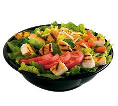 Burger King TENDERGRILL Chicken Garden Salad