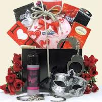 Fifty Shades of Grey Gourmet Gift Basket