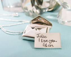 Personalized Mini Love Letter Necklace