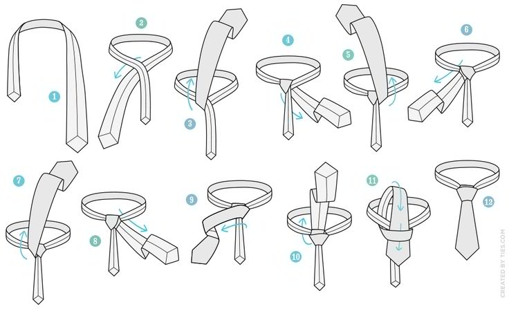 10 different tie knots and when to use them