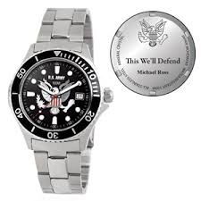 U.S. Army Honor Stainless Steel Watch