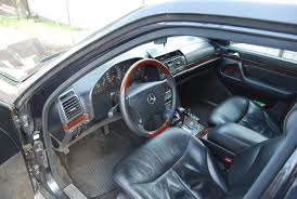 high mileage car + interior