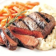 sirloin steak marinade + cooking for men