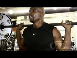 terry crews + weightlifting