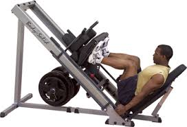 weight training program + leg press