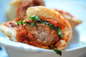 The Healthy Meatball Sandwich