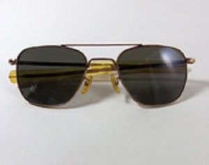 Vintage American Optical A/O Pilot FG-58 Sunglasses - 12K Gold Filled