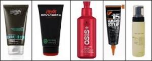 hair gel preparations for men