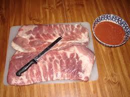 smoked ribs preparation