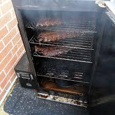 smoked ribs smoking