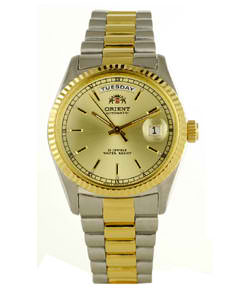 Orient Men's Automatic Gold Dial