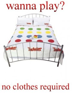 5 Twister in Bed